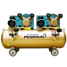 Máy nén khí dây đai PEGASUS TM-V-0.25/12.5x2-3HPx2-230L