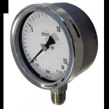 Đồng hồ đo áp suất Inox mặt 160mm